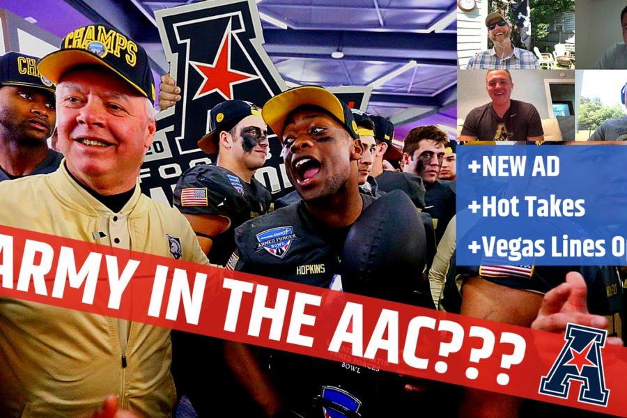 New AD, Betting Lines Open, Hot Takes, and Army in the AAC??