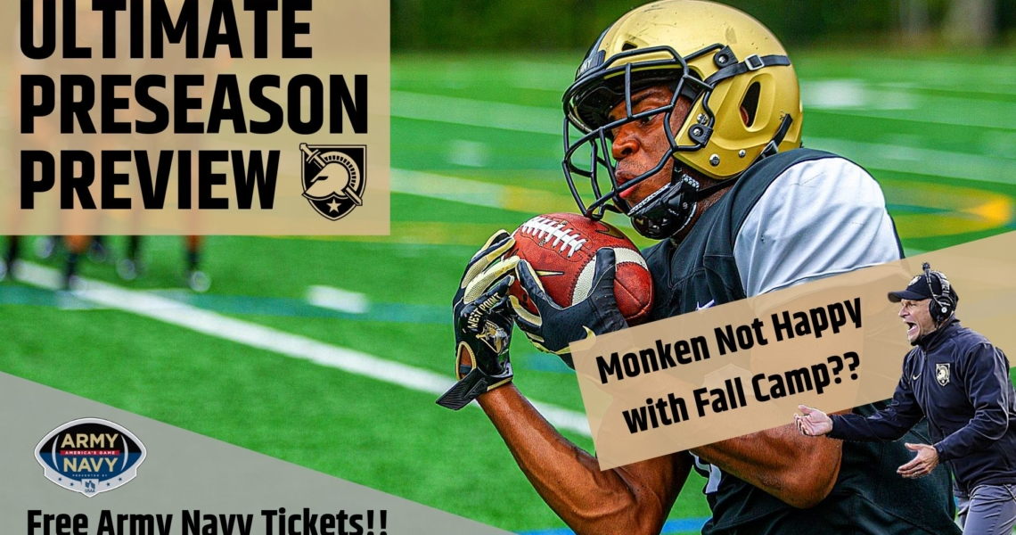 Ultimate Preseason Preview: Fall Camp, New Show Segments, and Army Navy Ticket Giveaway!