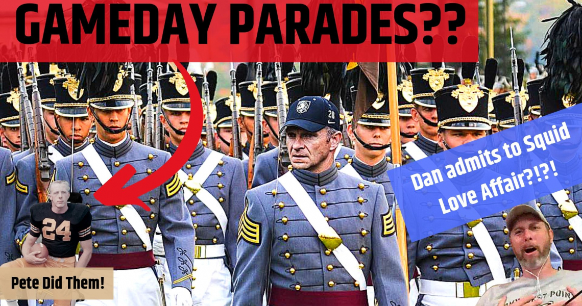 Players Marching in Gameday Parades and Dan's Mid Love Affair??
