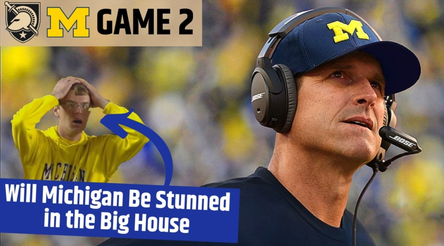 Game 2: Onto the Big House