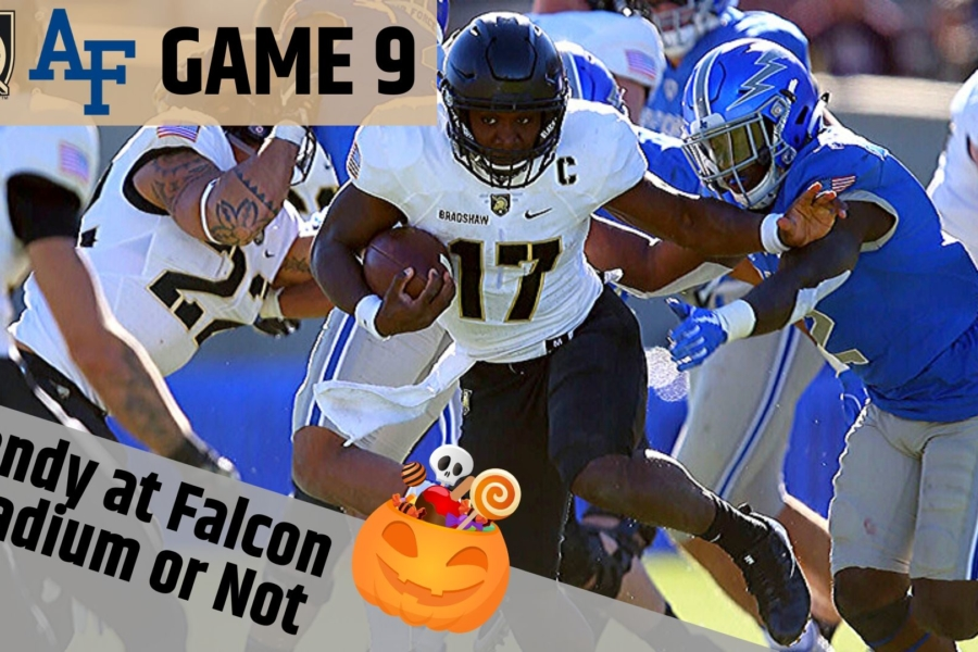 Game 9: Treat or Treat…Candy at Falcon Stadium??
