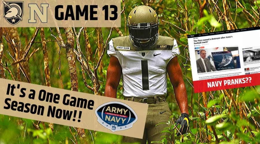 Game 13: America's Game Preview and Navy Pranks???